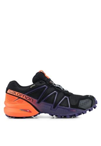 Salomon black Speedcross 4 Gtx Ltd W Shoes E1BCDSHDEE3853GS_1