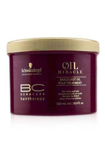 Schwarzkopf SCHWARZKOPF - BC Bonacure Oil Miracle Brazilnut Oil Pulp Treatment (For Coloured Hair) 500ml/16.9oz 08896BE843499FGS_1