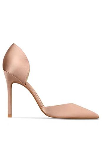 Twenty Eight Shoes 8CM Silk Fabrics Hollow High Heel Shoes LJX06-c 644B8SH3DDF64DGS_1