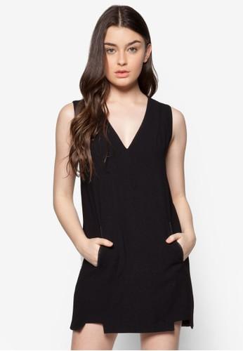 雙口袋Vesprit台灣官網 領連身裙, 服飾, 夏日洋裝