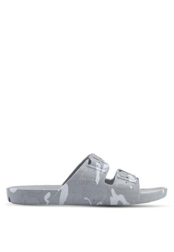 Freedom Moses grey Prints Army Grey Sandals 46933SH2F869B5GS_1