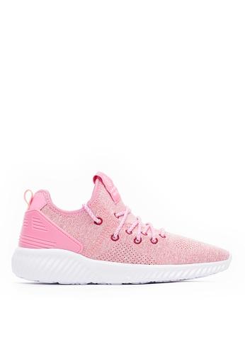 Life8 pink Lightweight Elastic Sport Shoes-09840-Pink 5BBEASH0C6D4C0GS_1