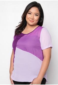 Noni Plus Size Short Sleeves Blouse