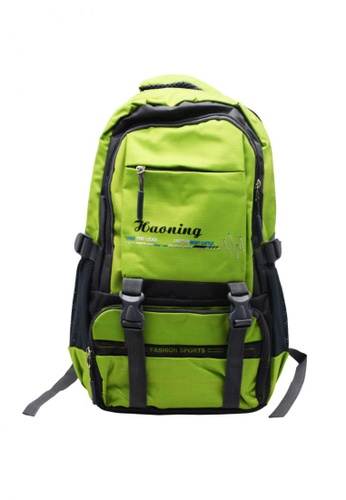 Manmico green Fashion Sport Climbing Hiking School Bag BackPack BP-H1  FE645ACC833FBDGS 1 f4befb6afad12