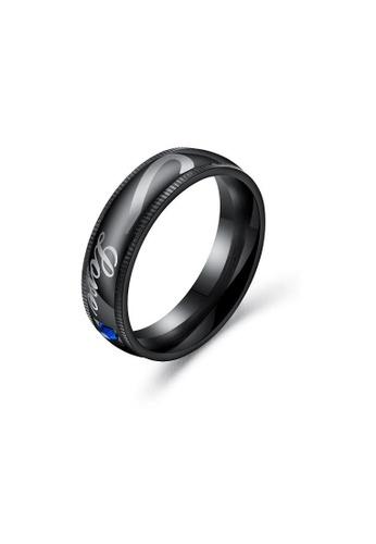 ADORA black Stainless Steel Black Ring 64430AC715C5DFGS_1