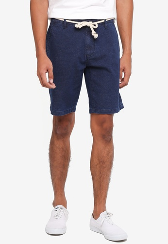 Only & Sons navy Niko Shorts 9C39EAA6216400GS_1