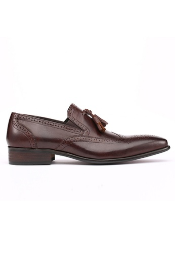 Kings Collection brown Cafaro Classic Loafer 4BD32SHED1CC71GS_1