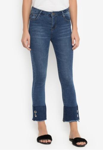 Balaynor blue High Waist Ambel Jeans 6C955AA31F70F2GS_1