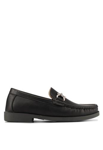 Albertini black and multi Buckle Loafers AL779SH0SAWHMY_1