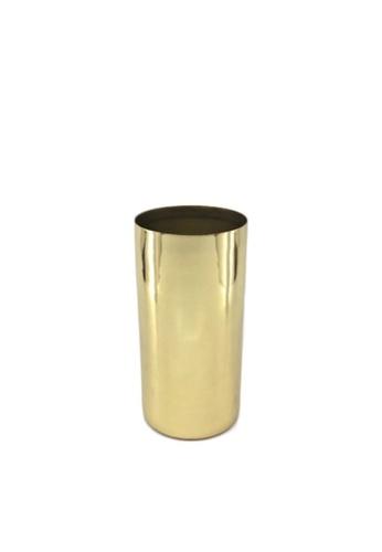 Stylodeco Flower Vase in Brass, S C4CE3HLBD7E961GS_1