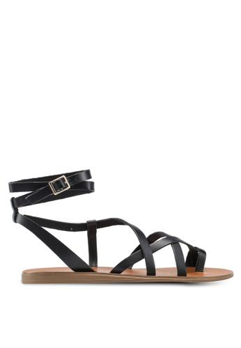 ALDO black Gludda Sandals 23E16SHC309BBCGS 1