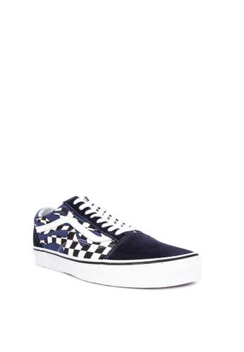 76c9533e4c Shop VANS Checker Flame Old Skool Sneakers Online on ZALORA Philippines