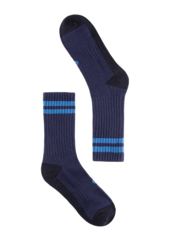 Life8 blue Men & women casual socks-05293-Blue LI248AC2VM73HK_1