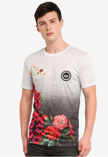 Just Hype multi Speckle Fade Rose T-Shirt D8DECAAF41EE1FGS_1