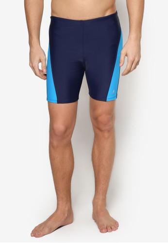 Bermudas 撞色拼塊泳褲, esprit outlet台北服飾, 運動