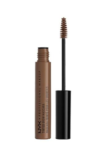 NYX Professional MakeUp brown NYX PROFESSIONAL MAKEUP Tinted Brow Mascara - Chocolate 5FF15BE736F262GS_1