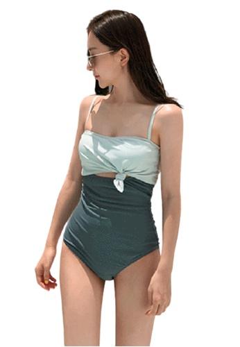 Halo multi Colourblock Swimsuit DB396US75BF8D3GS_1