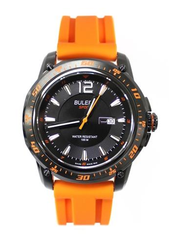 Buler black Buler Sport Watch - Black - Gents - Date - 3H 601ECAC5977800GS_1