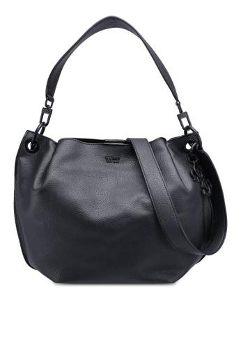 Guess Black Digital Hobo Bag 01c46ac9a4ad58gs 1