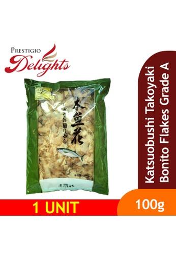 Prestigio Delights Katsuobushi Takoyaki Bonito Flakes Grade A 100g E9BC3ES331BFE0GS_1