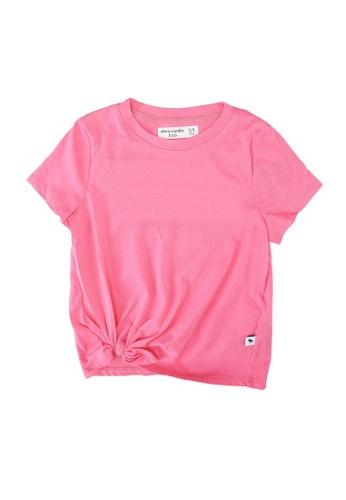 Abercrombie & Fitch pink Tie Detail Moost Have Top 96EEEKADA1EE06GS_1