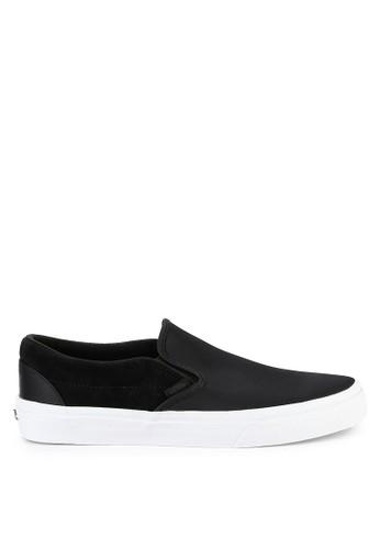 Vans black Ua Classic Slip-On 45548SHC900B29GS_1