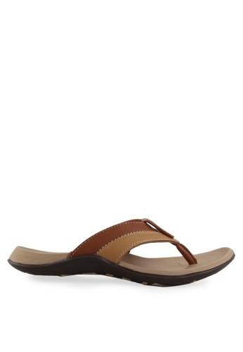 Homyped brown Raffi 01 Men Sandals HO842SH05ROOID_1