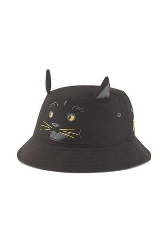 Puma black Animal Youth Bucket Hat D9F8BKCBB4B2F7GS_1