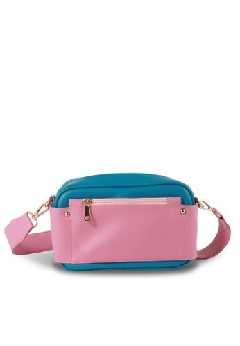 Ceviro blue Ceviro Flutania Sling Bag Tas Selempang Wanita Terkini Mint 5C879ACF5783C9GS_1