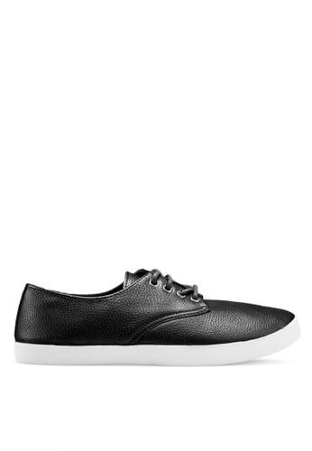 Rubi black Celeste Lace Up Hybrid Sneakers 4D96FSHCF6654FGS_1