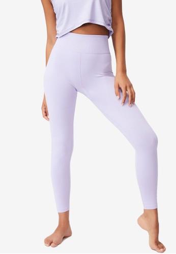 Cotton On Body purple Lifestyle Seamless 7/8 Yoga Tights 9BB3EAAE715EA1GS_1