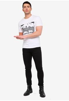 58eb35e26d9 30% OFF Calvin Klein Stars & Stripe Institution Tee - Calvin Klein Jeans S$  129.00 NOW S$ 89.90 Sizes XS S L XL