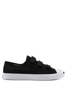 new arrival 613fb b035b Converse black Jack Purcell 3V Ox Sneakers 84308SHC5B8C58GS 1