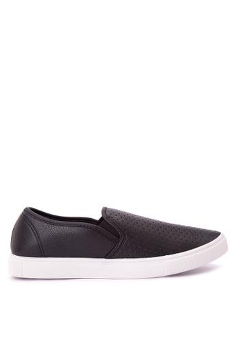 H2Ocean black Mens Sneakers Slip on H2527SH0J9U2PH_1