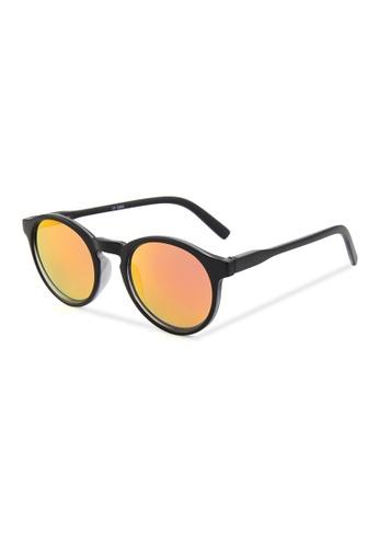 Quattrocento Eyewear Quattrocento Eyewear Italian Sunglasses with Gold Lenses Model Sala 76FA4GL60B7109GS_1