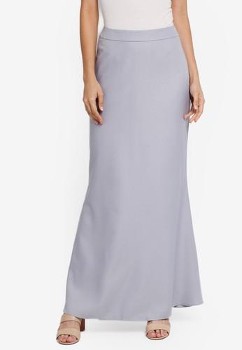 Soonaru grey Mermaid Skirt B8B31AA167FC0EGS_1