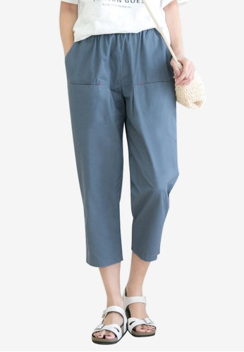 Tokichoi blue Casual Wide Leg Pants 8BD79AA19E8B6AGS_1