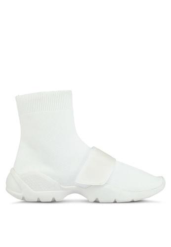 Mango white Sole Sock Sneakers 14EDFSH1EBCD3CGS_1