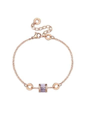 CELOVIS white and gold CELOVIS - Oceane White Cryolite Bracelet 15F59AC04534CEGS_1
