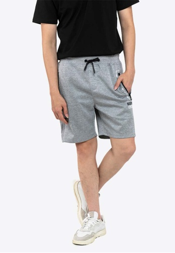 FOREST Forest Elastic Waist Leisure Short Pants - 665058 C8EF5AAAD51C6AGS_1