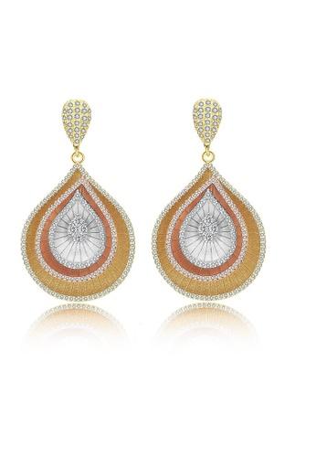 ADORA multi Triple Tone Dangling Earrings 9AA87AC0A0B738GS_1