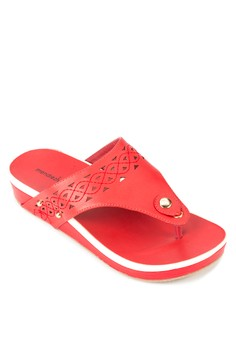 Karina Wedge Sandals