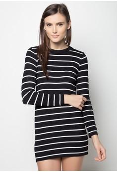 Striped Slinky Dress