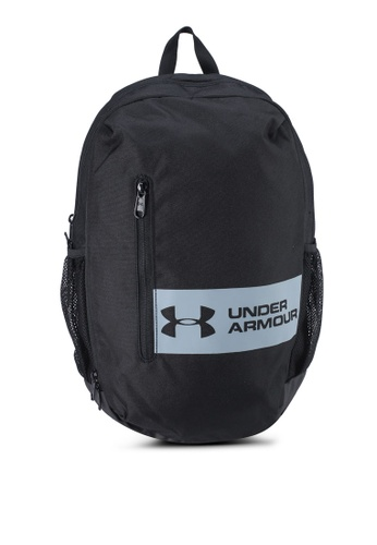 Under Armour black UA Roland Backpack EFDB1ACDEB777FGS_1