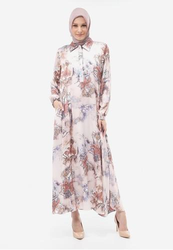 Yumnasa.id pink Yumnasa.id ZENOBIA Dress 4642BAAAD4378EGS_1