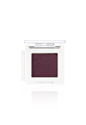 THE FACE SHOP purple Mono Cube Eyeshadow (Shimmer)  PP02 French Purple CB583BE83B945FGS_1