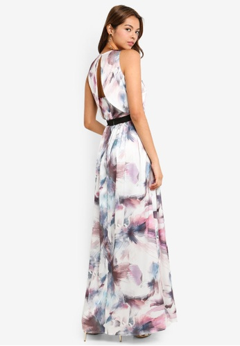 Little Mistress multi Print Maxi Dress B2191AA5CC5B39GS_1