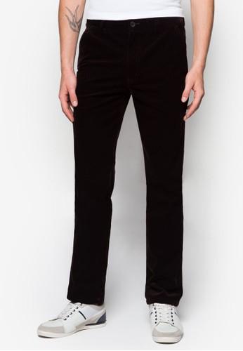 棉質直筒羅紋esprit台灣網頁長褲, 服飾, 長褲