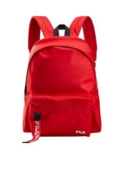 8673ee1280f Fila red White Line Unisex Backpacks CED09ACB8B69C5GS_1
