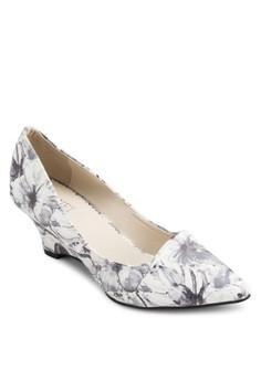 Elly 印花楔型鞋